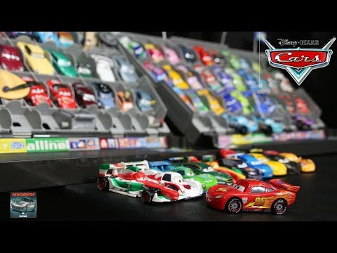 Disney Cars 2 World Gran Prix Japan Tokyo Race Track Movie Scene