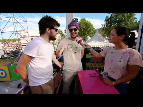 Rock Werchter Interview with Mumford & Sons