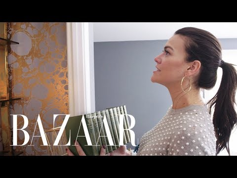 Transforming Your Closet Into A Chic Home Office | Design Girlfriend | Harper's BAZAAR