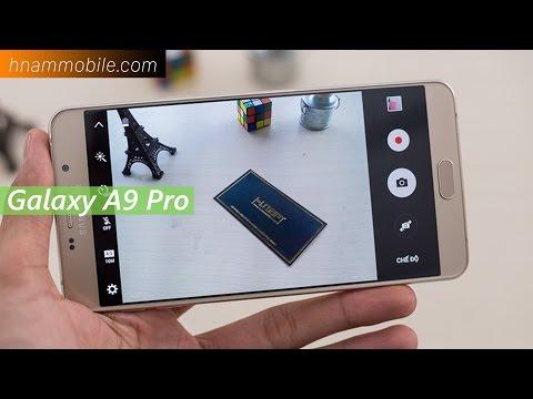 H-Channel   Trên tay Samsung Galaxy A9 Pro (2016) chính hãng.