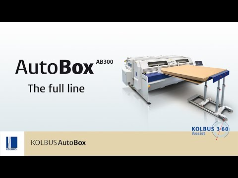 A Working Box Making Machine | Autobox: The Full Range