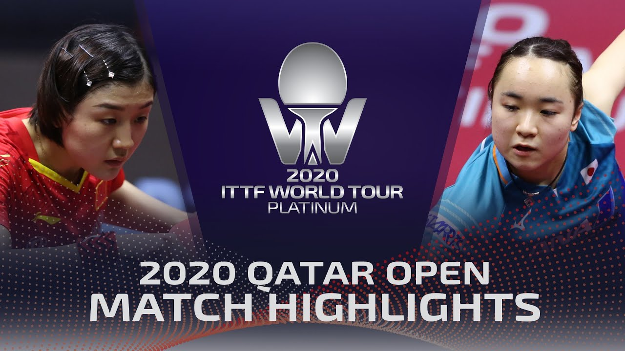 Download Chen Meng vs Mima Ito | 2020 ITTF Qatar Open Highlights (Finals)