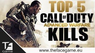 Top 5 Kills Call of Duty --Advanced Warfare Super FEED--