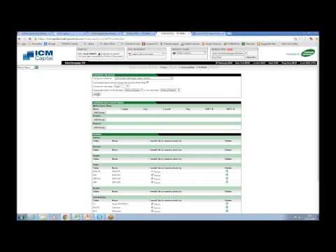 Webinar: Introduction to ICM Capital Technical Analysis News Portal