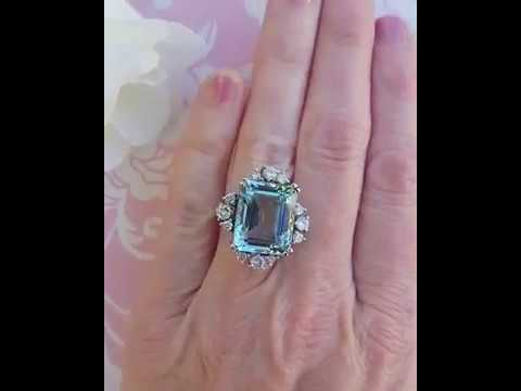 13 carat aquamarine princess diana aquamarine ring princess meghan markle aquamarine ring youtube 13 carat aquamarine princess diana aquamarine ring princess meghan markle aquamarine ring