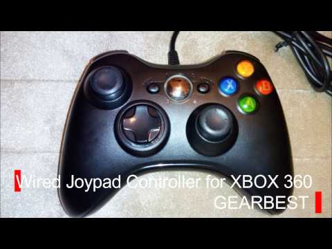 Wired Joypad Controller for XBOX 360 - GearBest