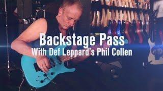 Backstage Pass with Def Leppard