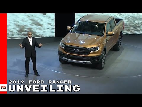 Ford Ranger Unveiling