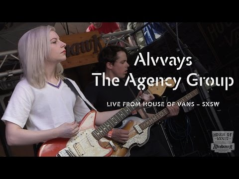 """Alvvays performs """"The Agency Group"""" at SXSW"""