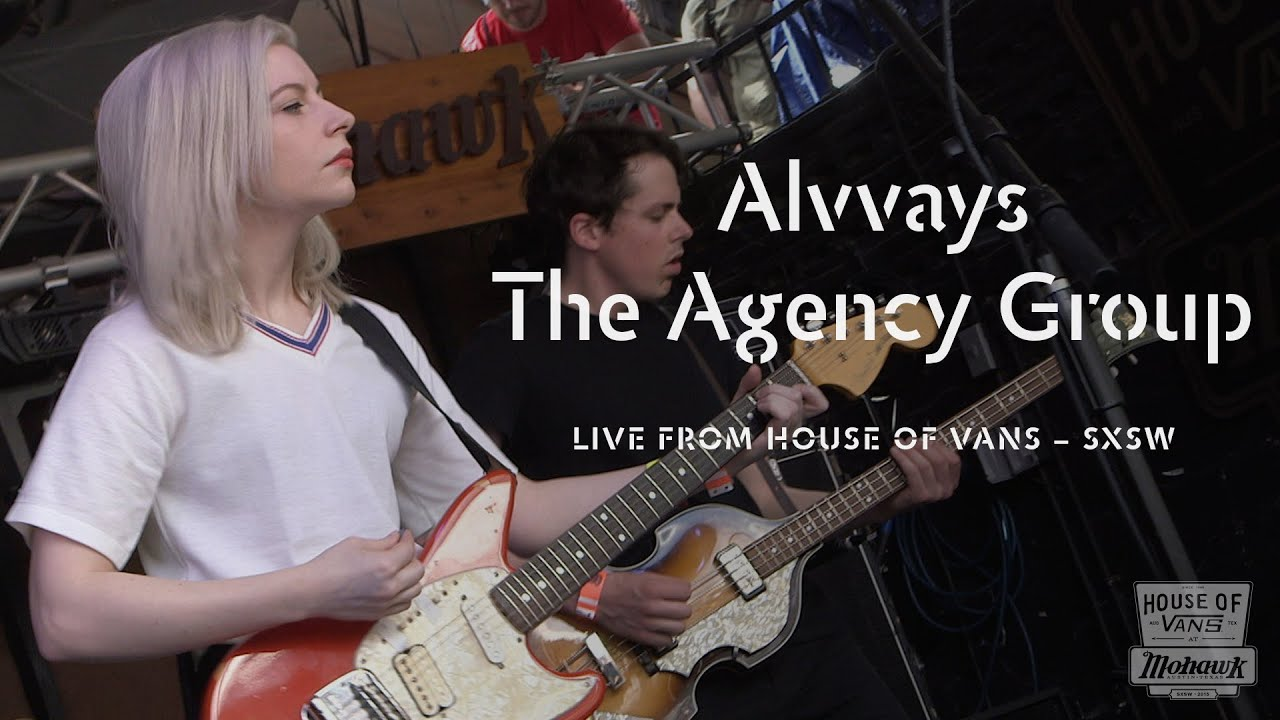 "Alvvays performs ""The Agency Group"" at SXSW"