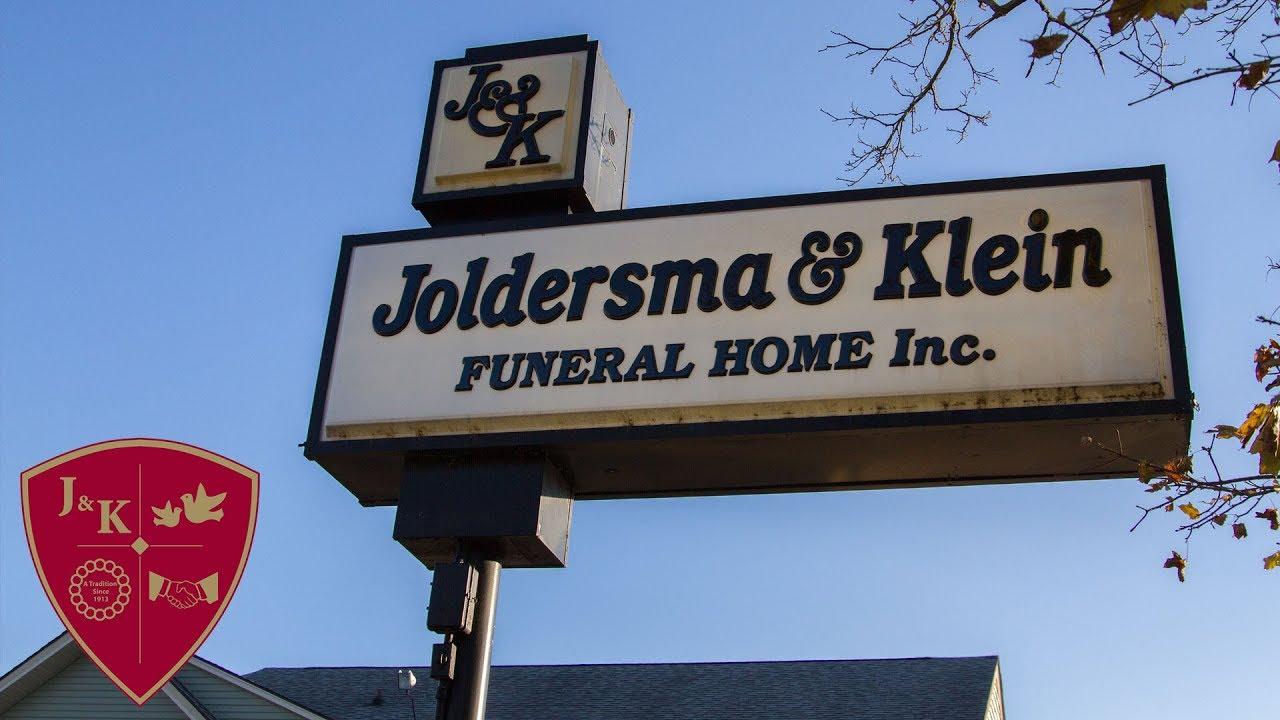 Kalamazoo Funeral Home, Joldersma & Klein