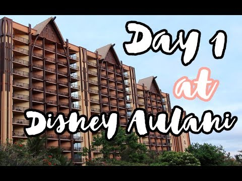 WE WENT TO AULANI! Hawaii Vlog Day 1 || whyhellojessica