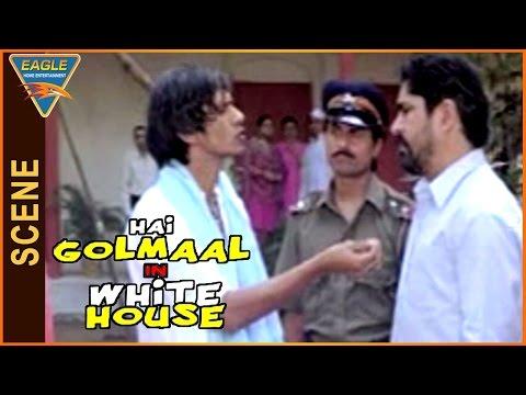 Hai Golmaal in White House Movie || Yashpal Sharma Discussion With Vijay Raaz || Govind Namdev