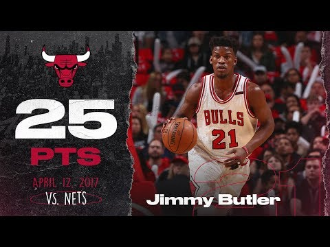 Jimmy Butler Highlights vs Brooklyn Nets - 4.12.17