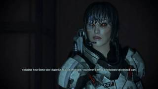 Mass Effect 2 - Shepard showing you how to handle Hostages