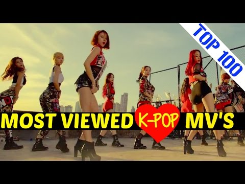 [TOP 100] MOST VIEWED K-POP MUSIC VIDEOS [FEBRUARY 2016]