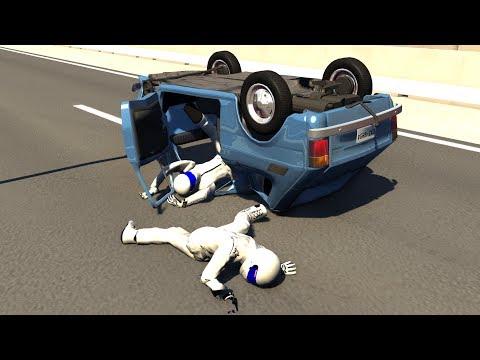 BeamNG.Drive Mod : Fiat 126p/Maluch + Stig Crash Testing HD