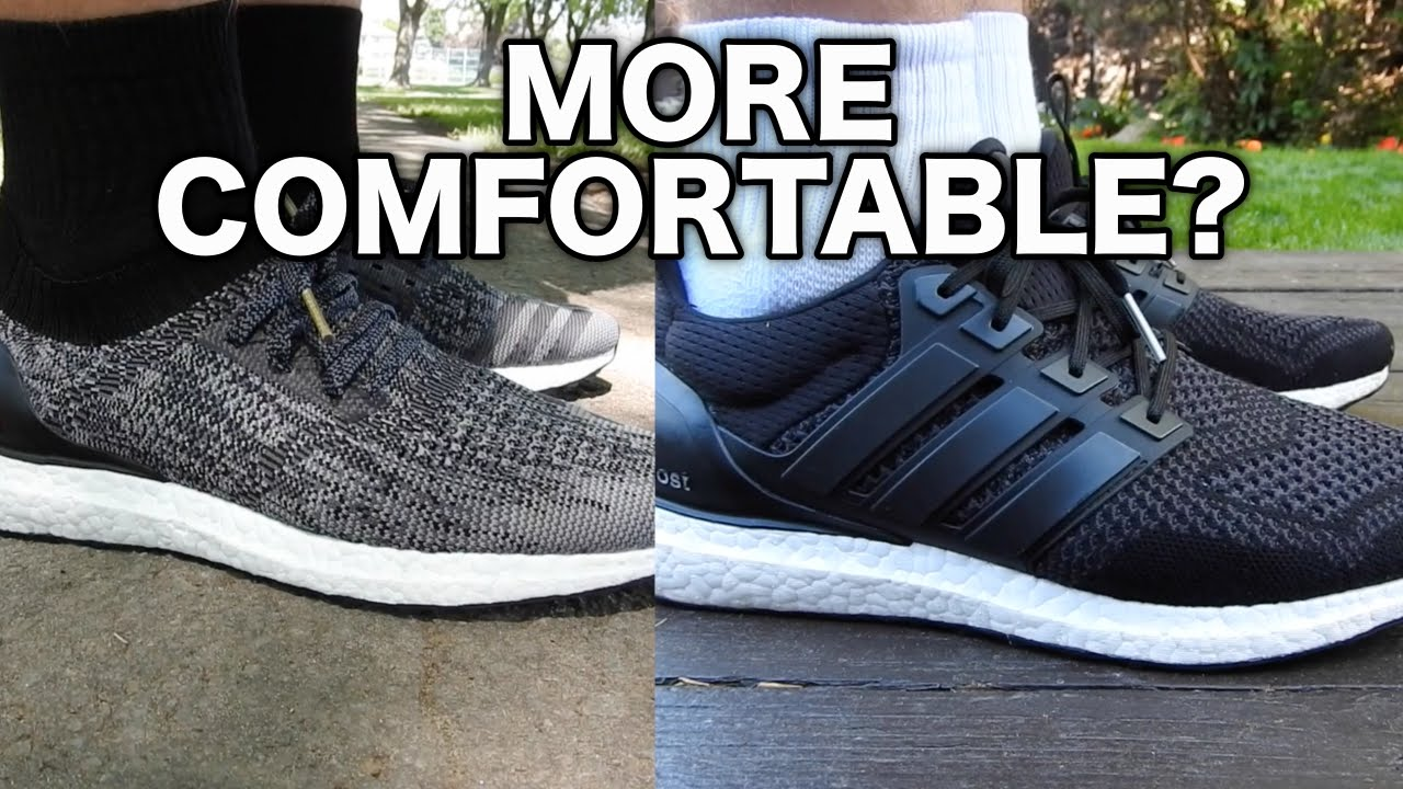 f590d814a7f8e WHICH ULTRA BOOST IS MORE COMFORTABLE  (Caged vs Uncaged) - YouTube