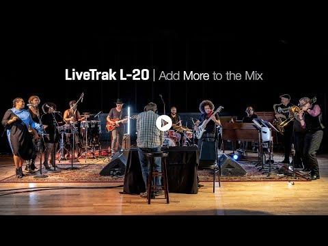 The Zoom Livetrak L-20