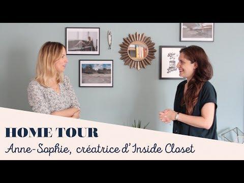 HOME TOUR D'ANNESOPHIE, CREATRICE D'INSIDE CLOSET