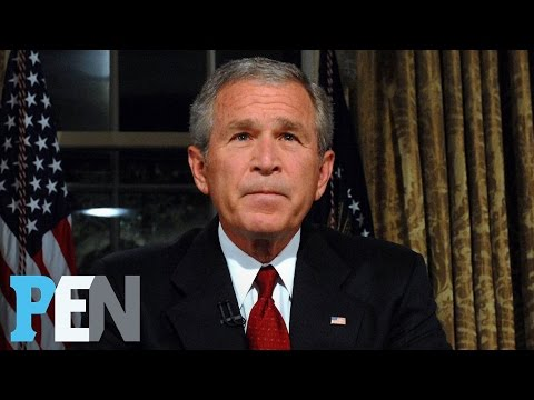 Save George W. Bush On Donald Trump, Michelle Obama, 9/11 & Much More | PEN | TIME Pics