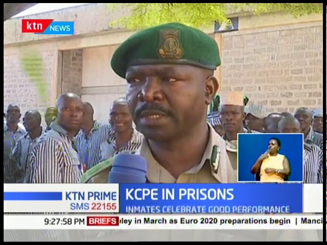 KCPE in Prisons: Murder convict, Amos Wafula, 35 year old inmate scored 385 marks