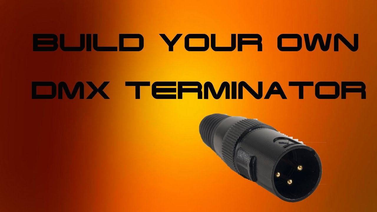 medium resolution of diy dmx terminator tutorial how to build a dmx terminator youtube rh youtube com belden 9727 wiring diagram dmx dmx wiring guide