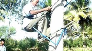 automatic tree climbing machine