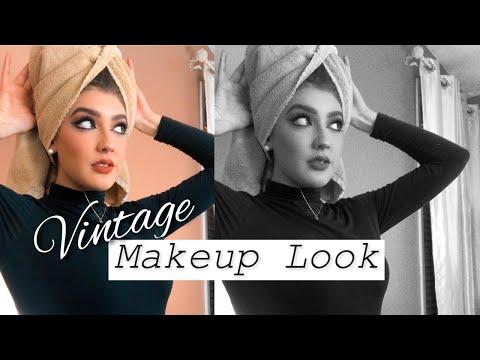 Maria Felix + Sophia Loren Inspired Makeup Look | Giselle Ramirez