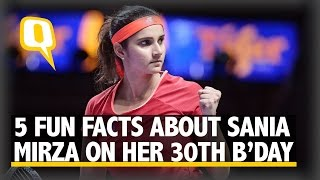 The Quint: Five Fun Facts About Sania Mirza on Her 30th Birthday