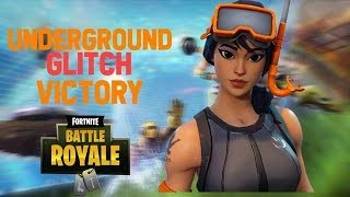 UNDERGROUND GLITCH IN FORTNITE *VICTORY ROYALE UNDER THE MAP* in new explosive gamemode