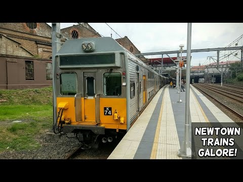 Sydney Trains Vlog 1306: Newtown Trains Galore