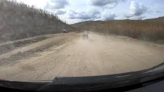 Путь домой!!! Трасса Тында-Белогорск. Расстояние в 720 км пройдено за 9 часов. Газель Некст Фургон!