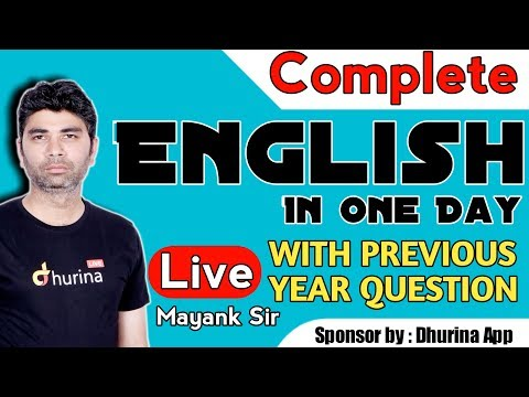 Complete Hssc English || KTDT || WITH PREVIOUS YEAR QUESTION || By Mayank Sir