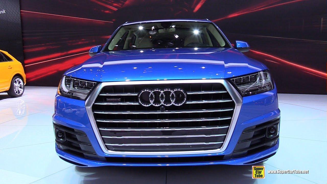 2016 Audi Q7 Tfsi S Line Quattro Exterior Walkaround 2017 Detroit Auto Show You