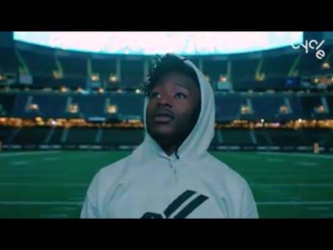 Alvin Kamara Pre-game routine | Dante GANG