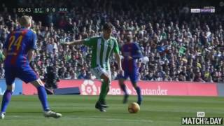 Real Betis vs Barcelona 1-1   All Goals & Extended Highlights   La Liga 29/01/2017 HD