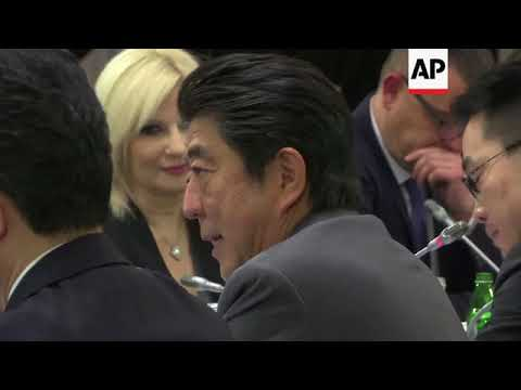 Japan PM arrives in Belgrade, says NKorea threat to Europe