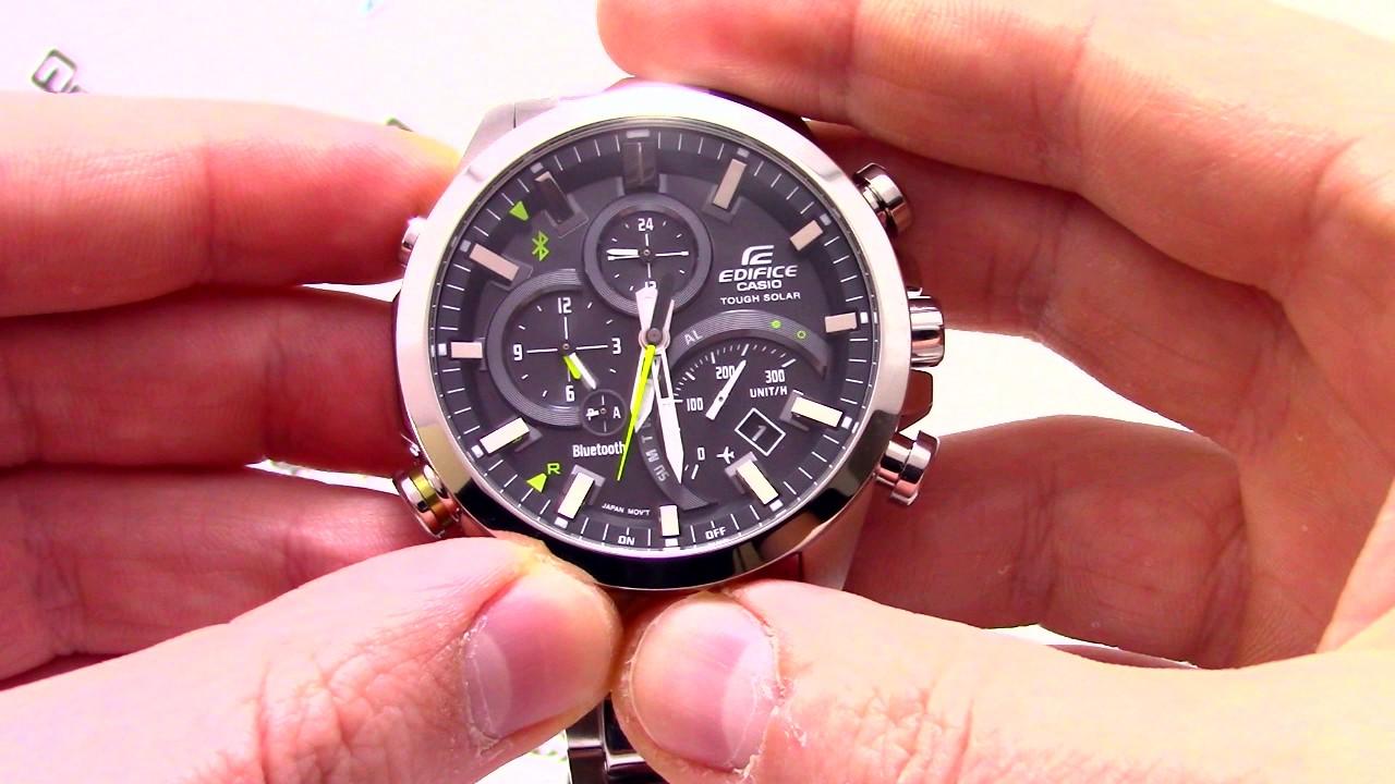 Часы Casio EDIFICE EQB-500D-1A  EQB-500D-1AER  - видео обзор от  PresidentWatches.Ru 0e3a659adfd