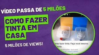 Como fazer tinta – Faça você mesmo