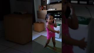 "Nicolly dançando  ""cheguei """
