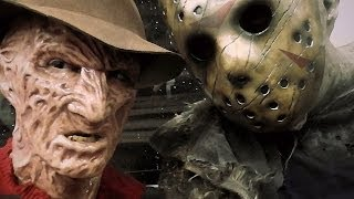 Freddy Krueger and Jason Voorhees in Real Life (Cosplay)