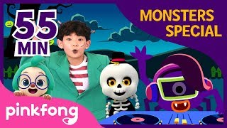 Halloween Monsters Special | +Compilation | Halloween Songs | Pinkfong Songs for Children