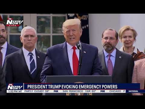 FULL CORONAVIRUS ANNOUNCEMENT: President Trump Invokes Emergency Powers At The White House