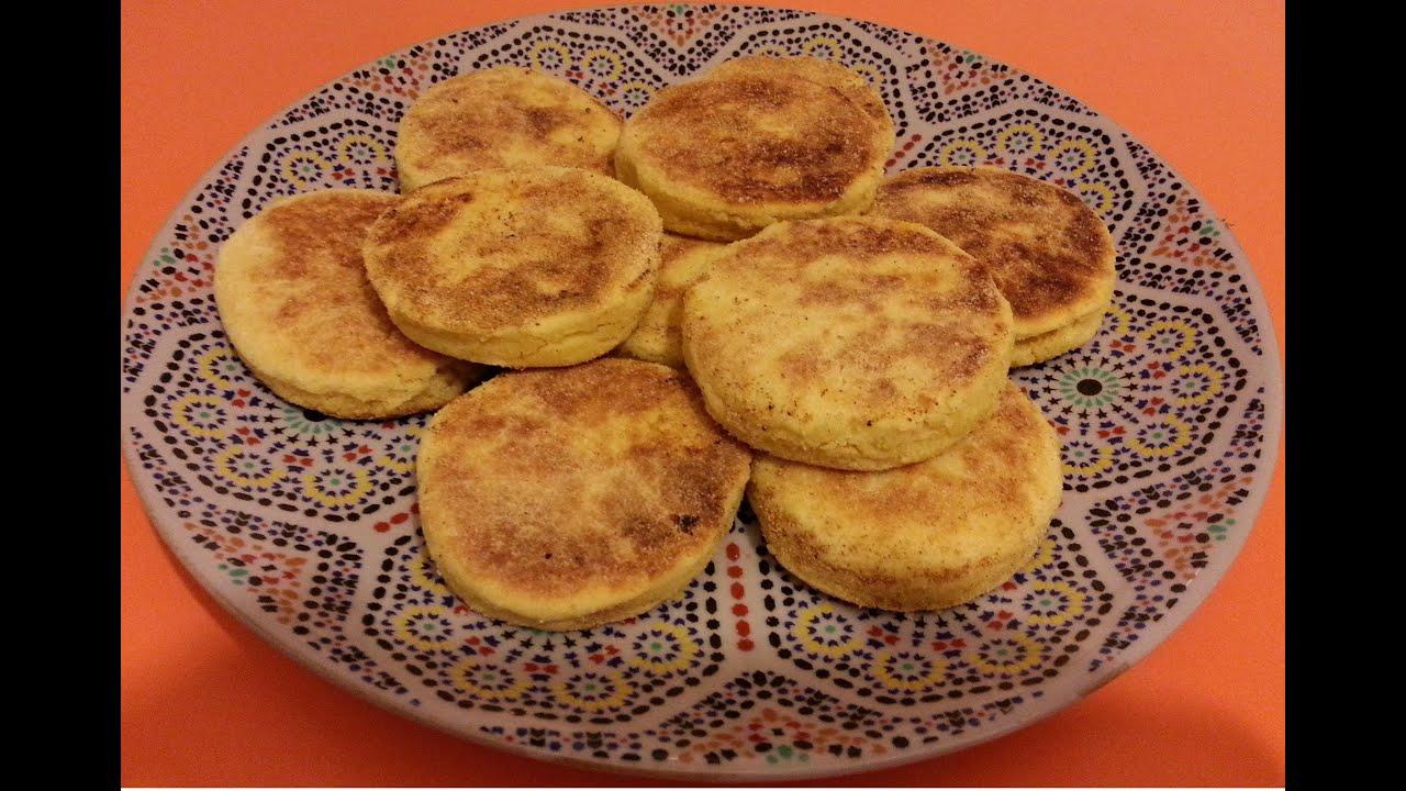 el arte de la cocina rabe harcha marroqu pan de