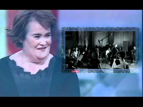 SUSAN BOYLE - Susan Boyle Interview New Album Plus Autumn Leaves Preview