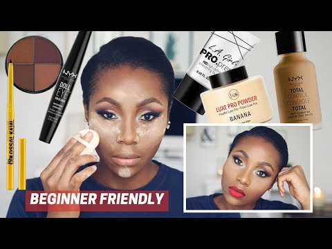 AFFORDABLE MAKEUP TUTORIAL FOR DARK SKIN WOMEN