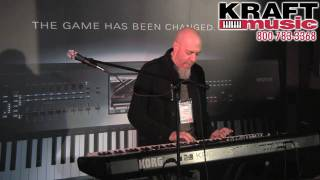 Kraft Music - Korg Kronos Demo with Jordan Rudess NAMM 2011 HIGH QUALITY! Resimi