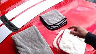 Griots Garage Dual Weave PFM WAX Towels | Game Changing Wax Removal