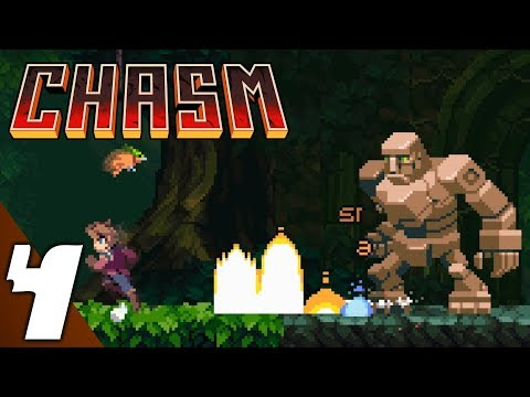 Chasm Gameplay part 4: Gardens (No Commentary)